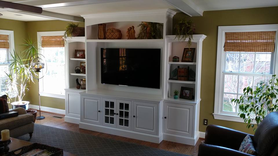 Custom Entertainment Centers In Louisville Kentucky