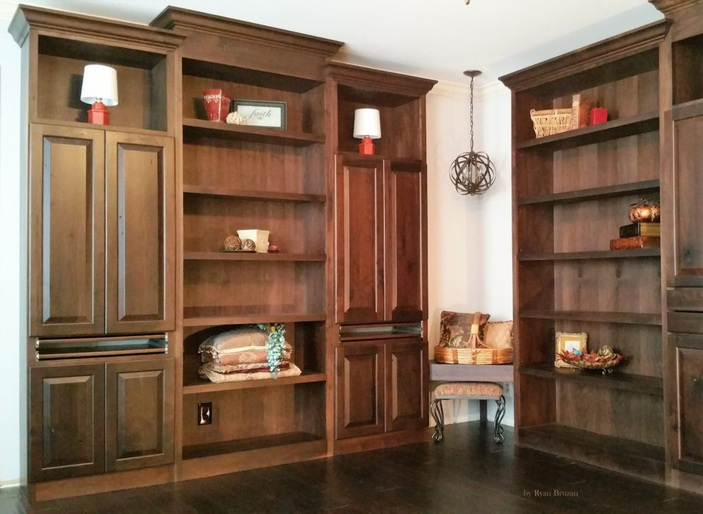 Custom built in cabinets - Custom made cabinet ...