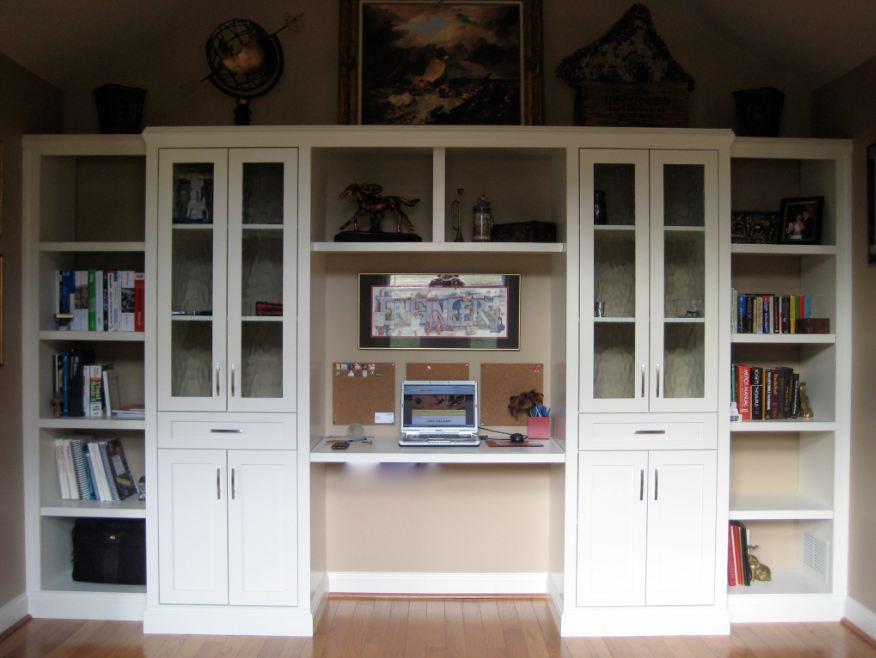 built-in home office in Louisville by Ryan Bruzan