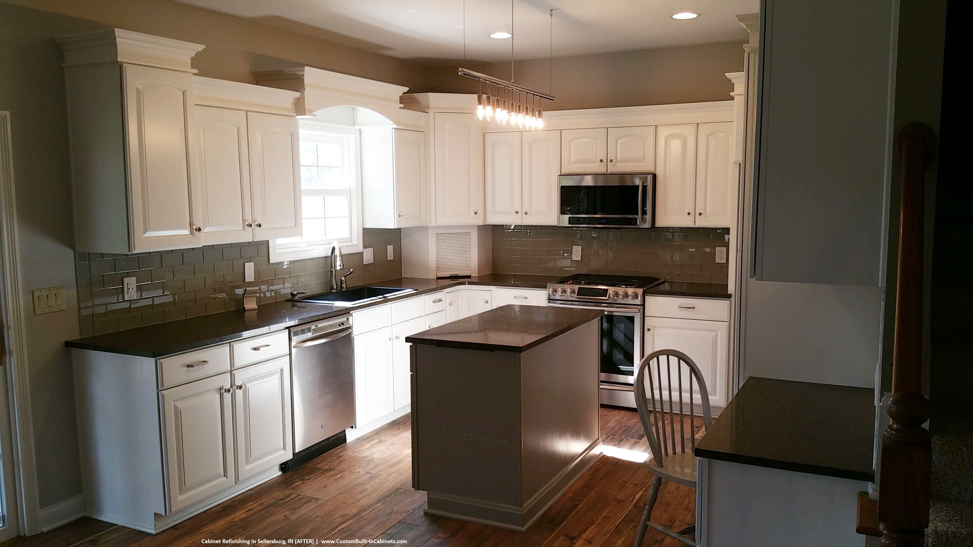 kitchen refinishing cabinets cabinet refinishing louisville and southern indiana areas 2486