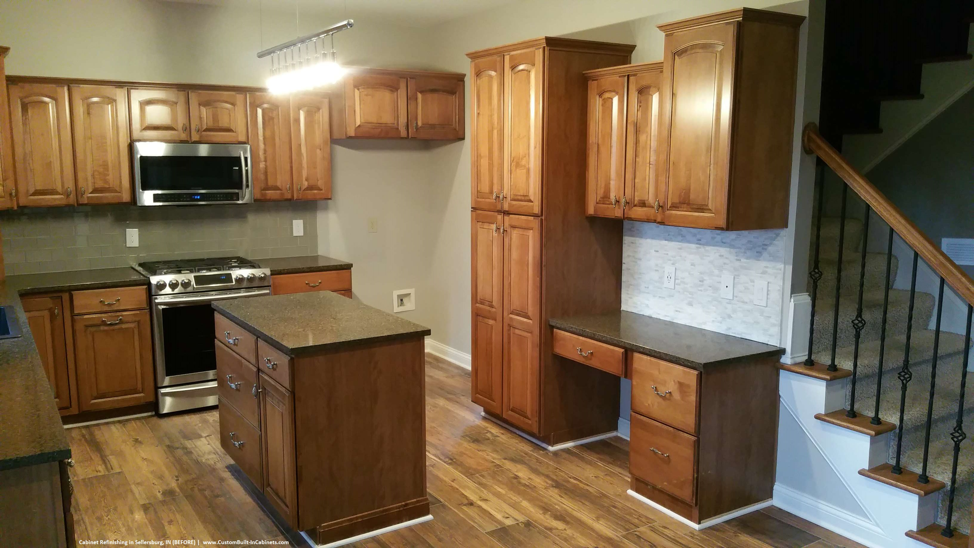 refinishing white kitchen cabinets cabinet refinishing louisville and southern indiana areas 4679