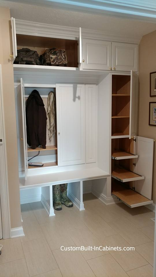 Custom Mudroom Built Ins In Louisville Kentucky And