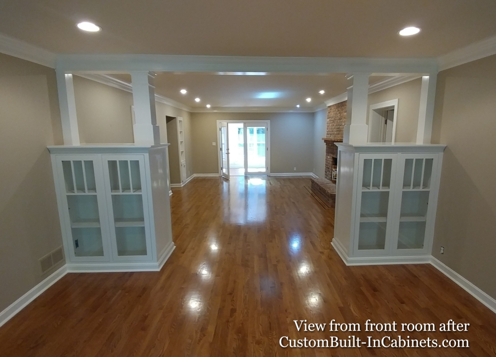 Custom Colonnade Bookcases by Ryan