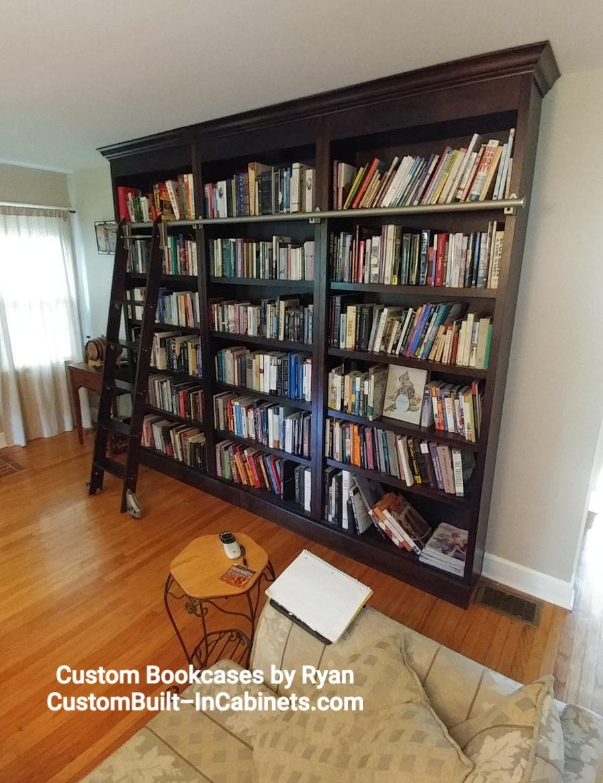Custom Bookcases by Ryan