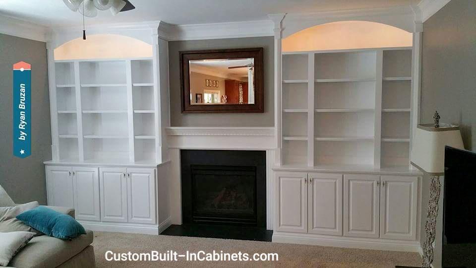 Custom Fireplace Built-Ins